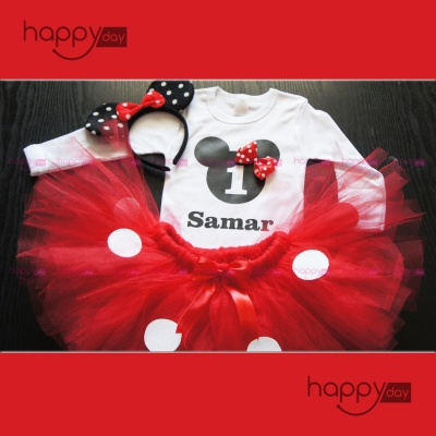 Tenue, Minnie Rouge