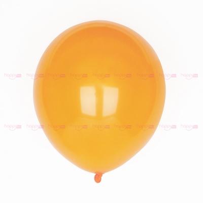 10 Ballons orange