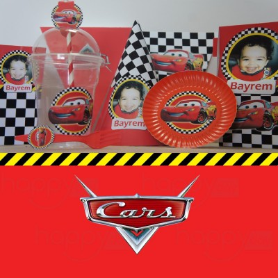 Kit Anniversaire Disney Cars