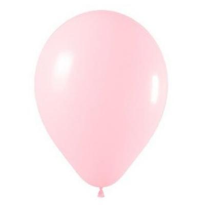 10 Ballons rose clair