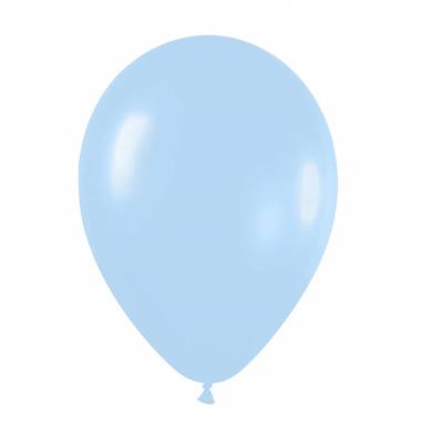 10 Ballons Bleu Ciel