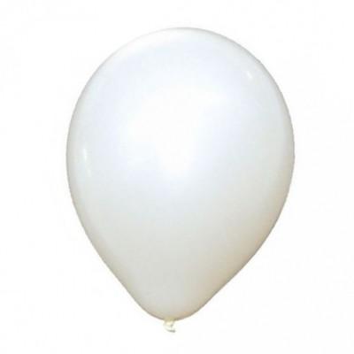 10 Ballons Blanc
