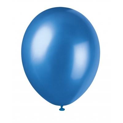 10 Ballons Bleu Roi