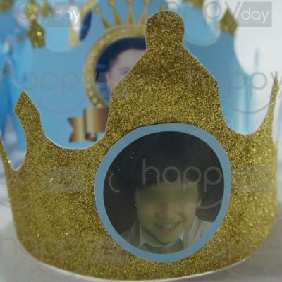 Couronne - Prince - Bleu Ciel
