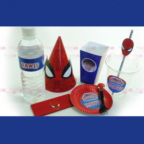 Kit Anniversaire Spiderman (10 personnes)