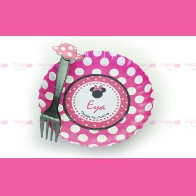 Assiette et fourchette,...