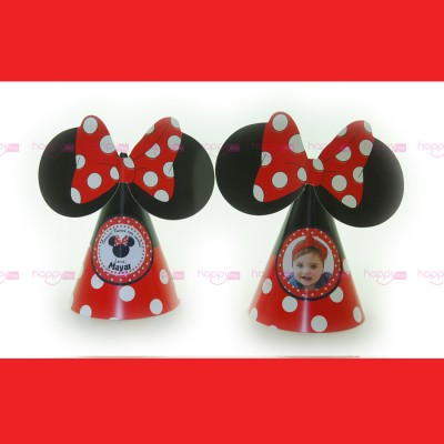 Chapeaux, Minnie Rouge...