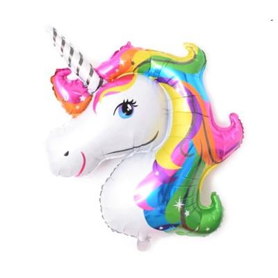 Ballon gonflable thème licorne