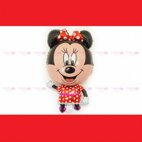 Ballon Gonflable Minnie Rouge