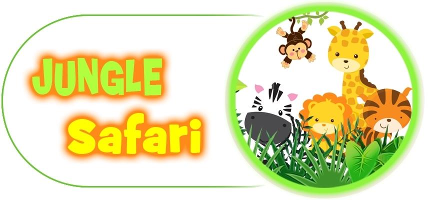 Décoration d'anniversaire Thème Safari