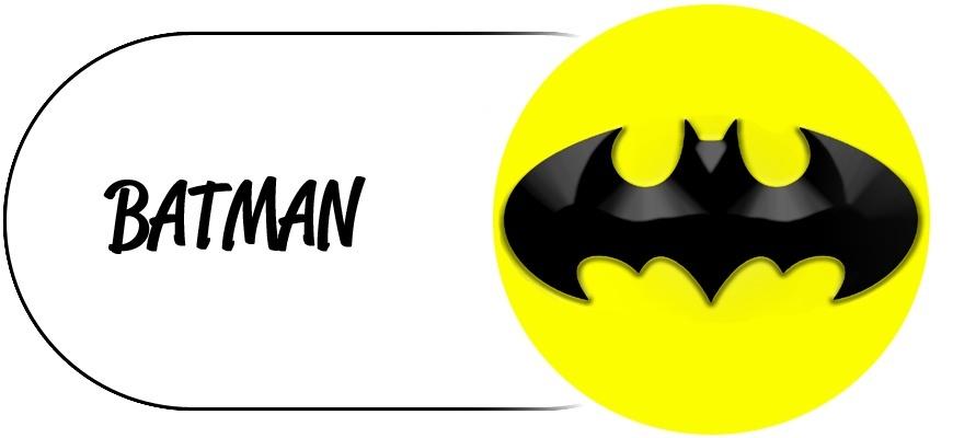Décoration d'anniversaire Thème Batman