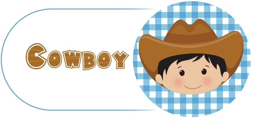 Décoration d'anniversaire Thème Cowboys