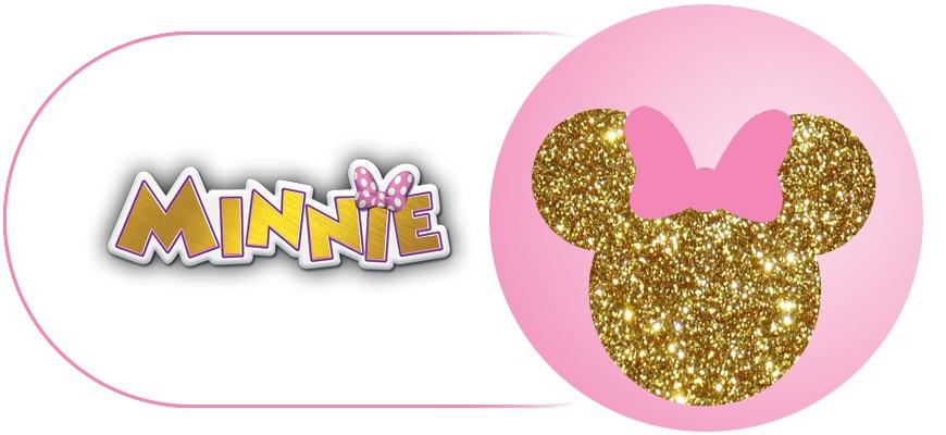 Minnie Mouse Rose et Doré